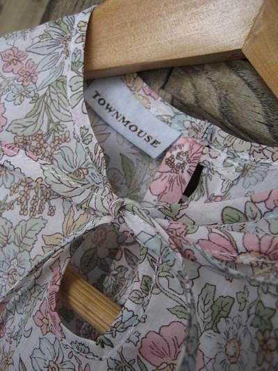 Flutter sleeve top detail