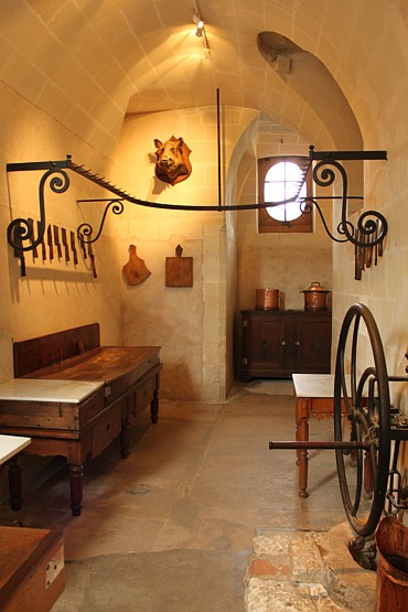 Chenonceau meat kitchen