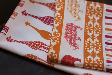Scarlet Fig fabric