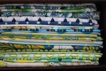 Fabric - rockpool quilt