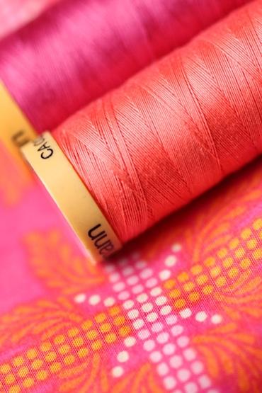 New quilt fabrics detail