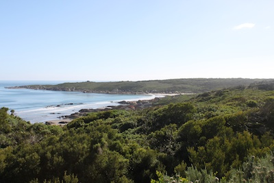 North view of West Telegraph Bay