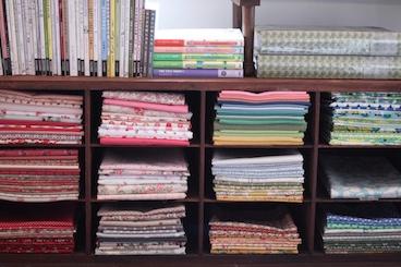 Studio - fabric storage