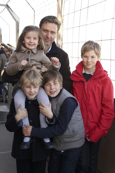 Europe family Eiffel Tower