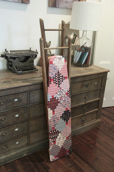Patchwork ironing board cover 8