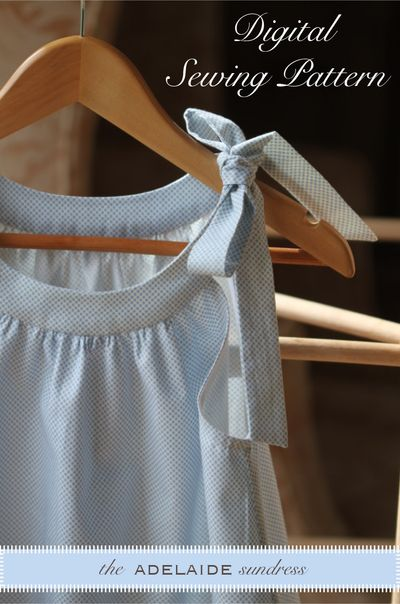Adelaide sundress with text