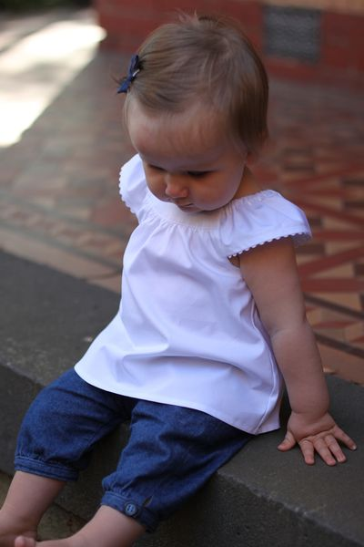 Chloe cuffed pants denim