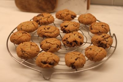 Grain Free Choc Chip cookies