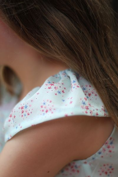 Eloise top sleeve detail