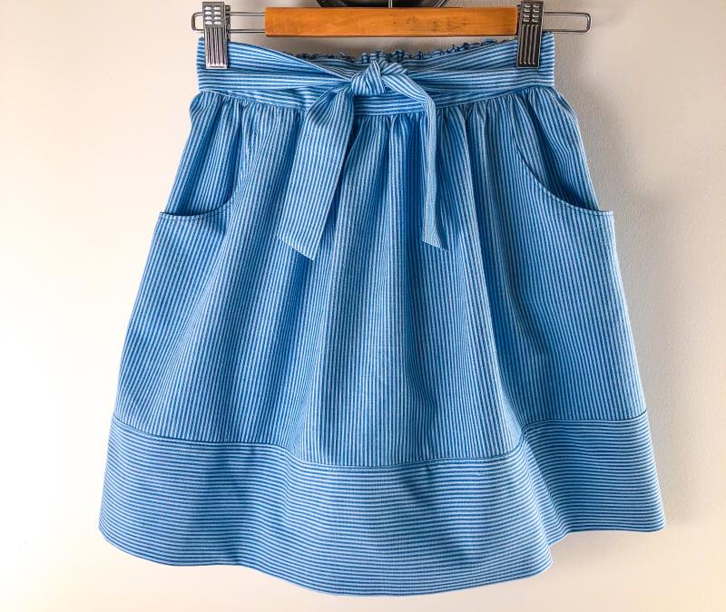 Sienna blue blue stripe
