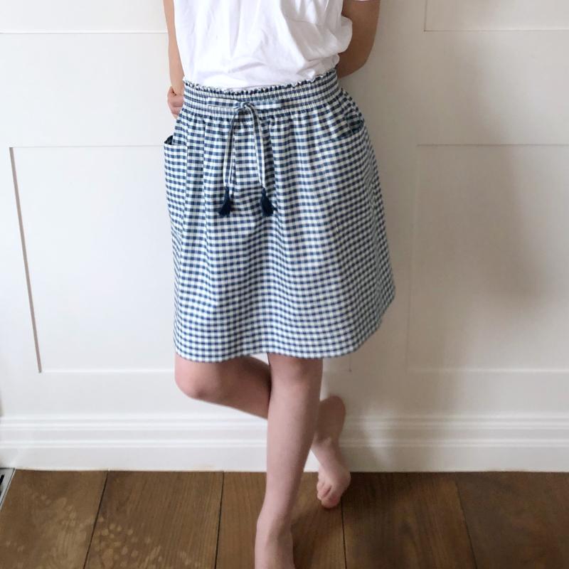 Shirred skirt 2