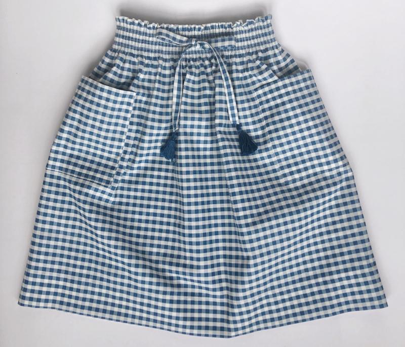 Shirred skirt 1