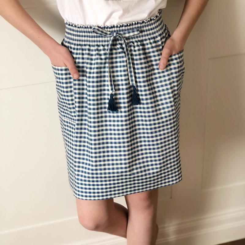 Shirred skirt 6